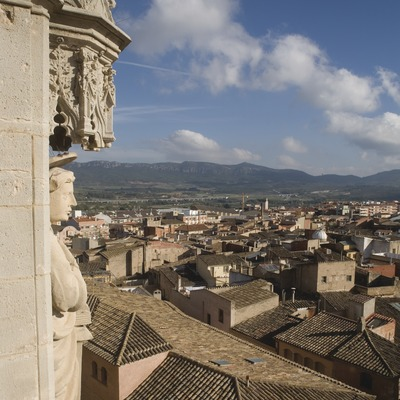 View of the town from the bell tower of the archpriest church of Santa Maria  (© Miguel Raurich)