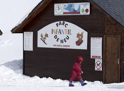 Children's area at the Boí-Taüll Ski Resort (© Nano Canas)