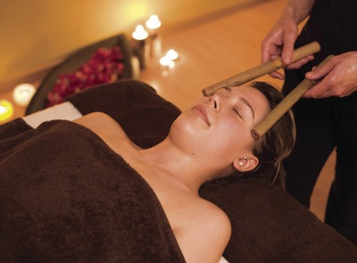 Wellness i spa, salud, bellesa i benestar a Berga Resort. (© Nano Cañas)