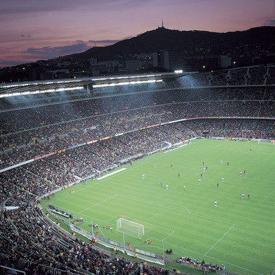 Camp Nou. Estadio del Futbol Club Barcelona.  (© Felipe J. Alcoceba)