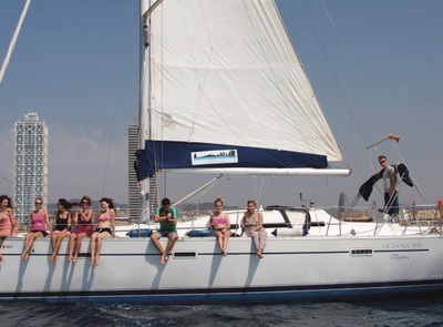 Enjoy Barcelona from the sea, private sailing yacht tours