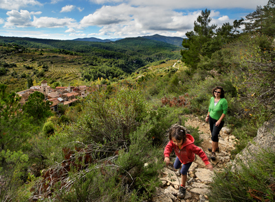 A family day out in the Prades mountains