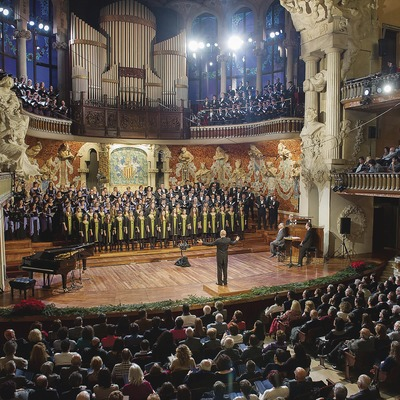 Concert at the Palau de la Música (© A. Bofill)