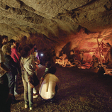 The caves of L'Espluga as a family