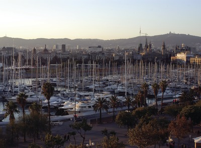 Vista general del Port Vell de Barcelona    (© Marc Ripol)