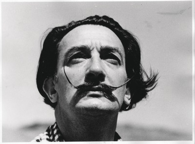 Salvador Dalí.       (© Salvador Dalí. All rights reserved)